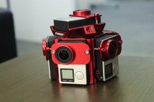 VR撮影用カメラ