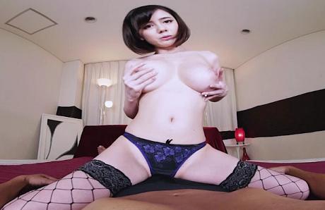 「吉川あいみ」ランジェリーな美爆乳痴女SEX