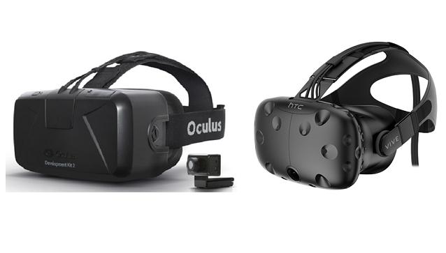 HTC Vive・Oculus Rift VR