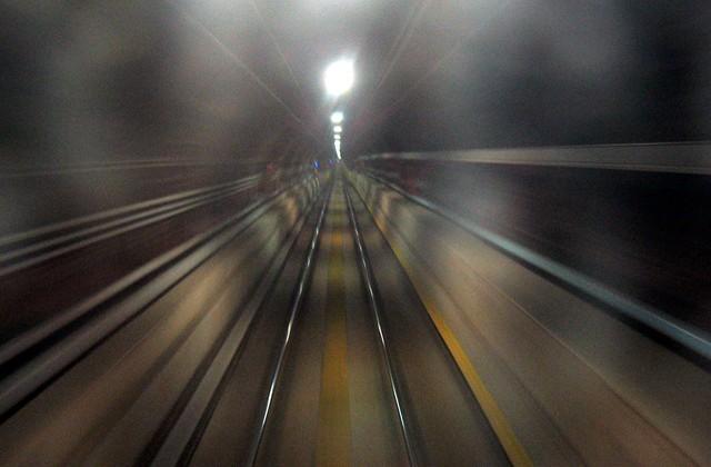 電車での感覚のズレ