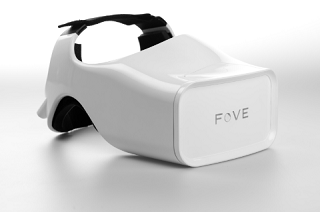 VRヘッドセットFove
